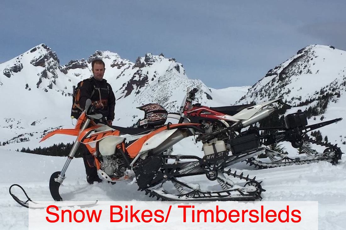 snowbike and timbersled mechanic bend la pine and central oregon